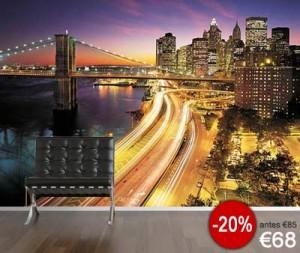 new York-fotomural