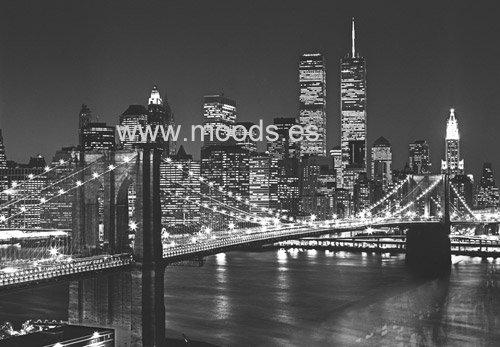 fotomural puente brooklyn
