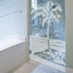 Vinilos trasl cidos para ventanas at vinilos decorativos - Vinilo mampara ducha ...