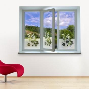 Vinilos trasl cidos para ventanas at vinilos decorativos - Vinilo cocina cristal ...